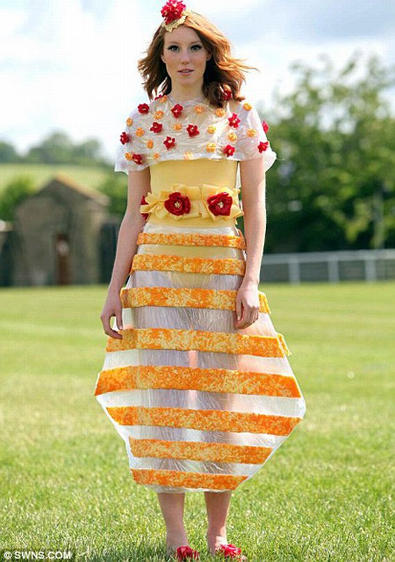 There's Nothing Sexier Than A Lady In A Cheese Dress