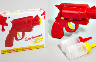 Summer Gets Better With The Condiment Gun