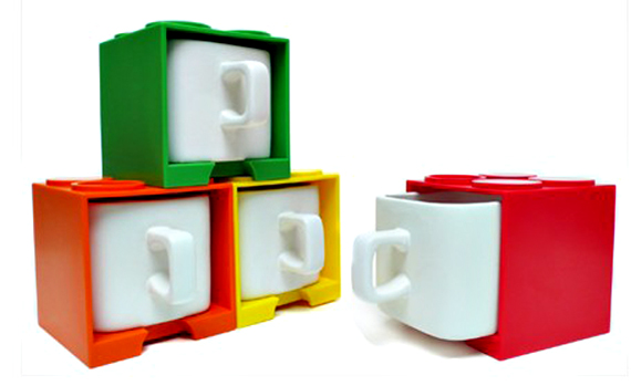 Fit A Square Mug In A Square Cube