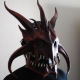 Dragon King Leather Helm