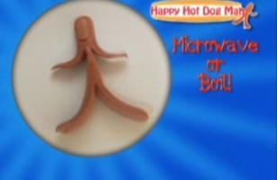 The Happy Hot Dog Man Makes Lunch Fun