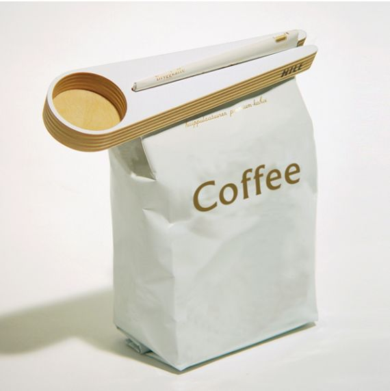 Keep Your Coffee Fresh With The Kapu Coffee Scoop