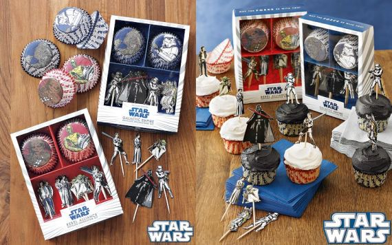 Use The Force To Decorate Cupcakes