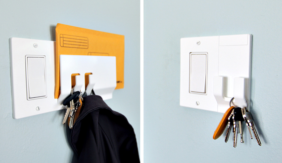 Wallplates Are A Home For Your Keys
