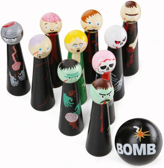 Get Ready For The Zombie Outbreak With Desktop Zombie Bowling