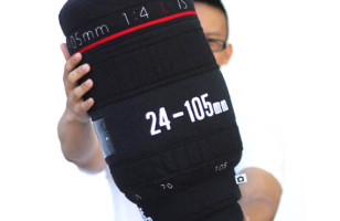 Focus On Sleep With A Camera Lens Pillow