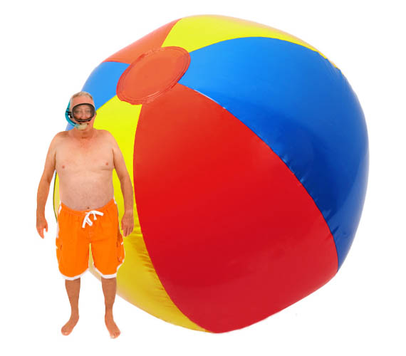 Hey, Giant Inflatable Beach Ball, You're In My Sun