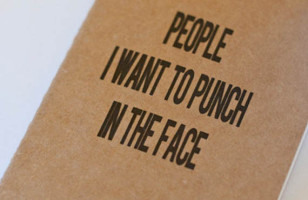 Want To Punch Someone? Tell It To Your Moleskine
