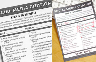 Oversharer? Lurker? Hand Out A Social Media Citation
