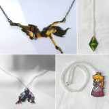 Video Game Necklaces