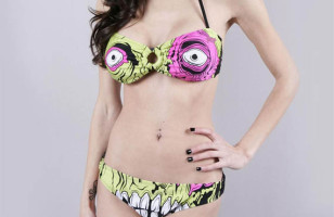 Monster Bikini That Won't Scare Anyone Away