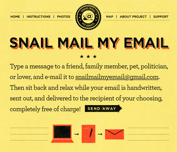 An Easy Way To Turn Email Into Snail Mail