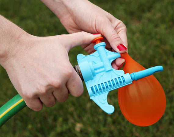 Hurling Water Balloons At Children, Made Easy