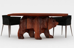 Check Out This Beary Cool Table