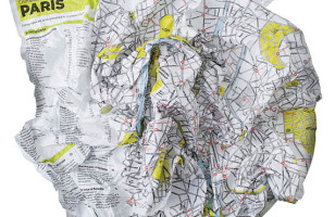 Crumpled City Maps: No Folding Necessary