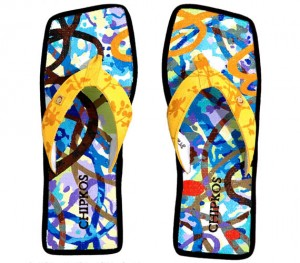 You Won't Forget These Flip Flops At the Beach