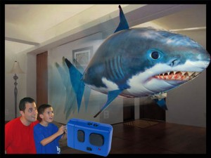 Flying Sharks Will Terrorize Your Cat