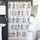 Robot Toile Shower Curtain