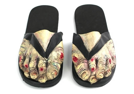 Zombies Need Comfortable Shoes Too