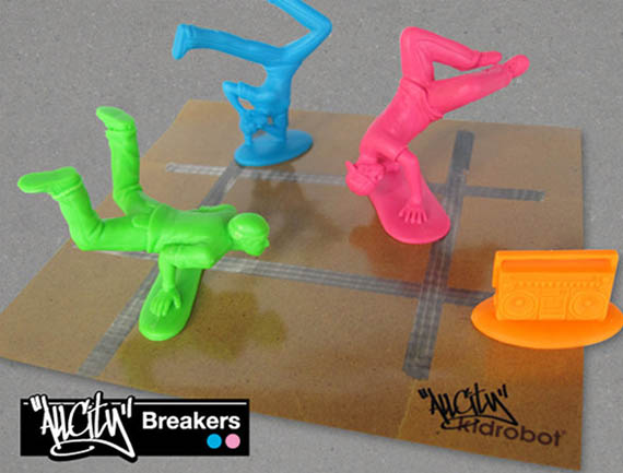 Some Plastic Men Join the Army, Some Breakdance