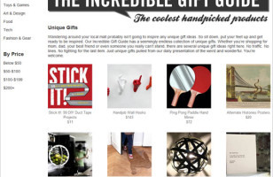 The Incredible Gift Guide