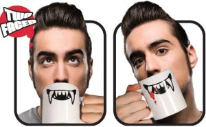 Two Faced Vampire Mug Doesn't Care Whose Team You're On