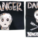 Danger Dishes Not Done Kitchen Towel