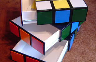 Rubik's Cube Drawer Solves Your Organization Problems