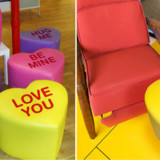Valentine's Day Candy Seat