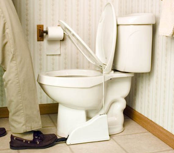 Stop Arguing Already And Get The Toilet Seat Lifter | Incredible Things