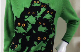Kitties Peering Into Your Soul Sweaters
