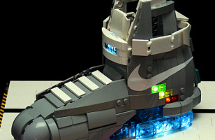 LEGO Back to the Future Shoes