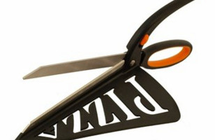Get Perfect Slices Of 'Za With The Stainless Steel Pizza Pro Scissors Spatula Pizza Cutters