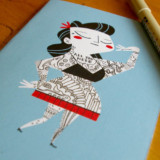 Tattoo It Yourself Note Cards