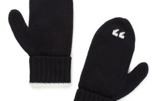 "To ""Keep You Warm"" Or Something: Air Quote Mittens"