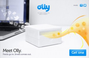 Olly: The Smell of Social Networking