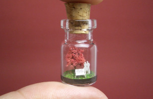 OMG SO CUTE: Tiny World In A Bottle