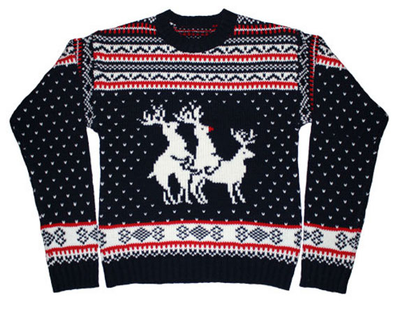 naughty christmas sweaters - Dirty Christmas Sweaters