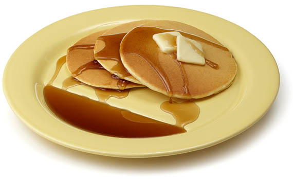 Breakfast Just Got Sweeter With Pancakes Plates