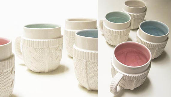 Keep Your Cocoa Warm With The Sweater Mug