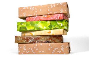 Presents Schmesents, Gimme The Burger: Cheeseburger Wrapping Paper