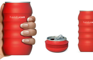 Handycan Crushes Typical Can Design
