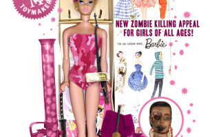 No Chainsaw Arm? Zombie Attack Barbie