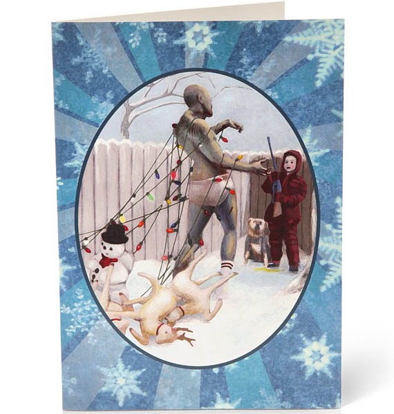 We Wish You A Scary Christmas: Zombie Christmas Cards