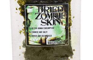 Edible Dried Zombie Skin