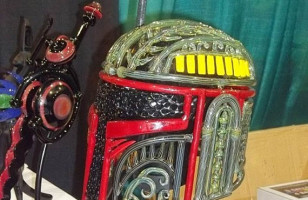 Far Far Out: Boba Fett Glass Pipe Helmet