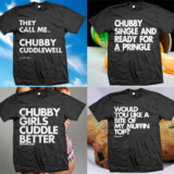 T-Shirts For The Chunky And Proud