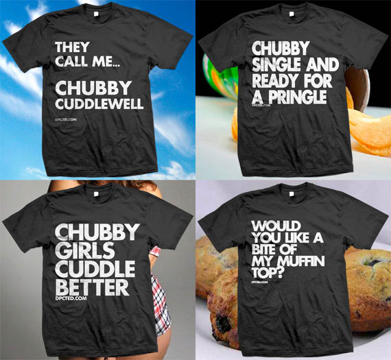 T-Shirts For The Chunky & Proud