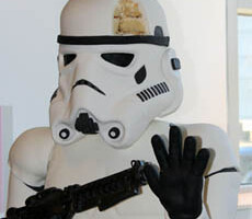 Aren't You A Little Sweet For A Stormtrooper?