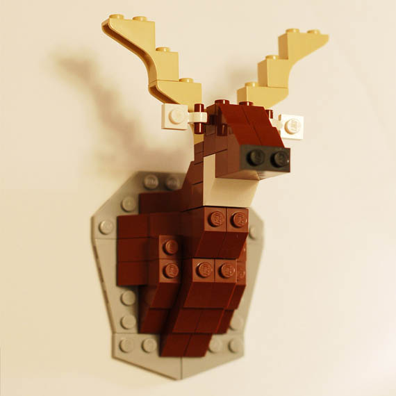 Less Guns, More Fun: LEGO Taxidermy Kits